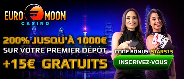 Jouer maintenant sur Euromoon Casino