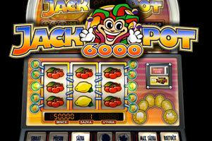 Machine à sous Jackpot 6000