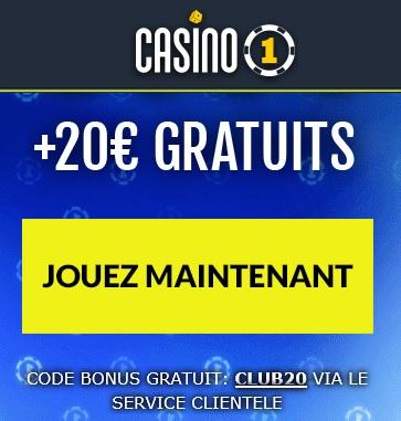Casinos avec Bonus sans dépôt