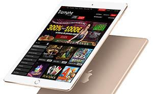 Casinos en ligne disponibles sur iPad