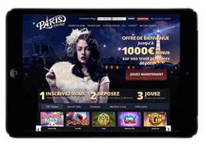 Jouer au casino en ligne sur tablette