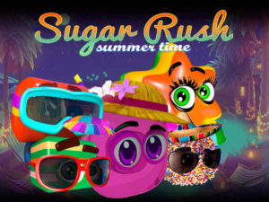 Machine à sous Sugar Rush Summer Time
