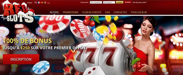 Jouer à Redslots Casino