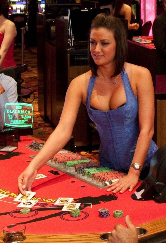 Le Blackjack avec un vrai croupier